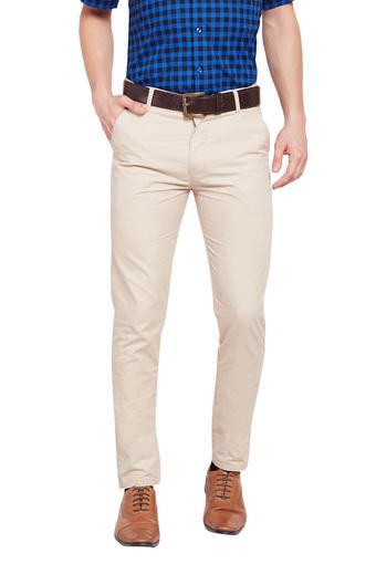 HANCOCK -  BeigeCargos & Trousers - Main