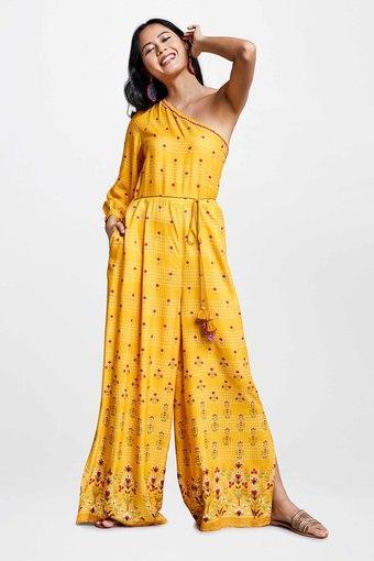 GLOBAL DESI -  MustardIndianwear Dresses - Main