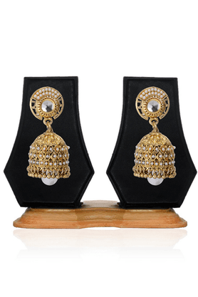 ZAVERI PEARLSSplendid Traditional Jhumki Earring - ZPFK2490