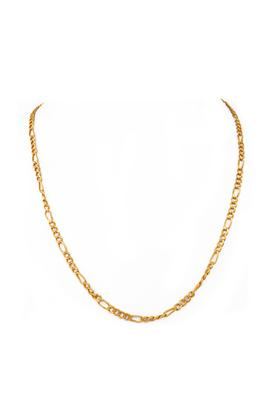 WHP JEWELLERS Mens 22 Karat Gold Chain Necklace GCHD16003952