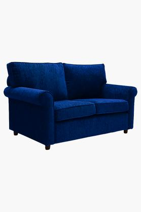 Midnight Blue Fabric Sofa (2 - Seater)