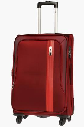 Unisex Carter Zipper Closure Soft Trolley