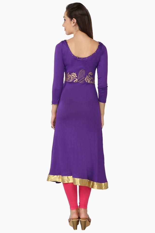 Womens A Line Fit Printed Kurta