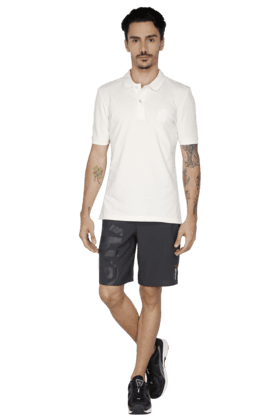Mens Slim Fit Short Sleeve Solid Polo T-Shirt