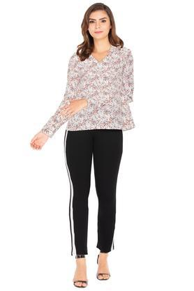 ALLEN SOLLY - CreamTrousers & Pants - 3