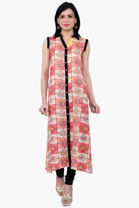 JUNIPER Women Full Length Sleeveless Kurta