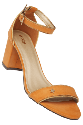 RS BY ROCKY STARWomens Daily Wear Ankle Buckle Closure Heel Sandal