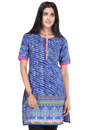 STOP Women Cotton Kurta - 9860643