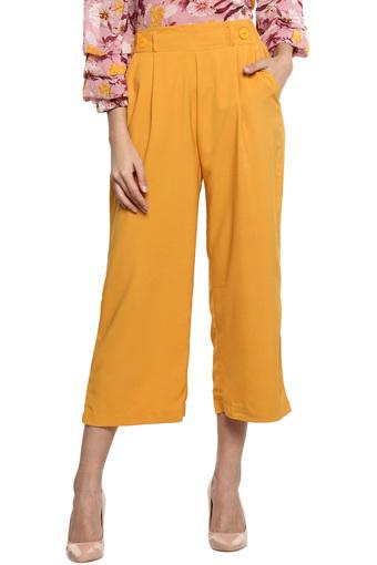 A086 -  MustardTrousers & Pants - Main
