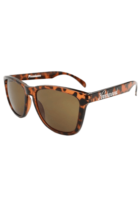 KNOCKAROUND Classic Premium Unisex Sunglasses Glossy Tortoise Shell/Amber-PRGL1041 (Use Code FB20 To Get 20% Off On Purchase Of Rs.1800)