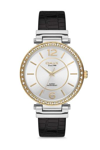 Womens Sunset White Dial PU Analogue Watch - FA9-SU003T12I