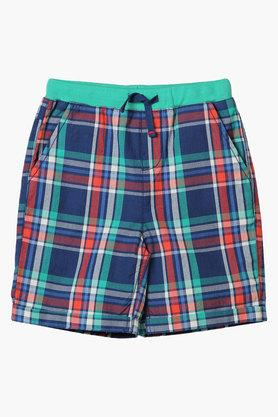 Boys Check 4 Pocket Shorts