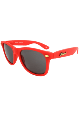 KNOCKAROUND Fort Knocks Unisex Sunglasses Red/Smoke-FKGL1002 (Use Code FB20 To Get 20% Off On Purchase Of Rs.1800)