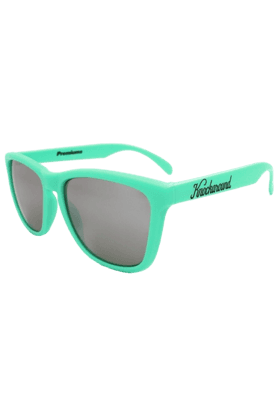 KNOCKAROUND Classic Premium Unisex Sunglasses Mint Green/Smoke-PRGL1010 (Use Code FB20 To Get 20% Off On Purchase Of Rs.1800)