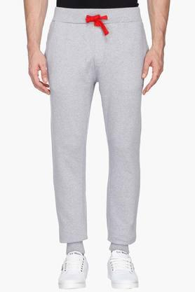 U.S. POLO ASSN. Mens Slim Fit Slub Track Pants