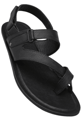 VETTORIO FRATINI Mens Velcro Closure Formal Sandal