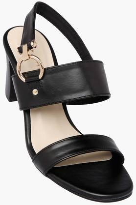 Womens Casual Wear Slipon Heel Sandals