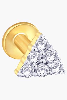 MALABAR GOLD AND DIAMONDSWomens Mine Diamond Nosepin - 201389821