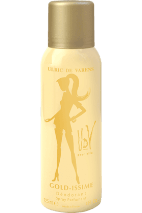 ULRIC DE VARENSGoldissime Deo Spray For Her 125Ml