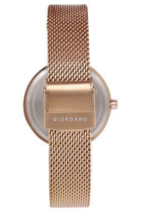 Womens Blue Dial Analogue Metallic Watch - GD-4007-11