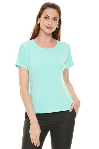 A086 -  Sea Green T-Shirts - Main