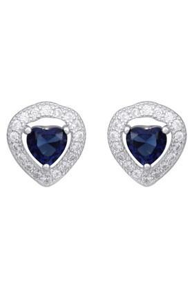 IZAARAWomens Silver Stud Earrings