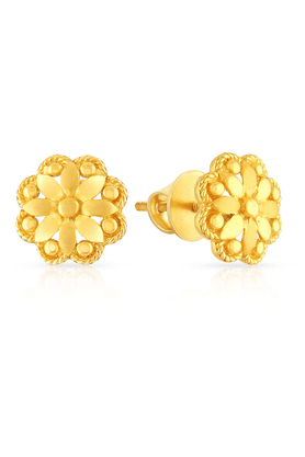 MALABAR GOLD AND DIAMONDS Womens Malabar Gold Earrings - 201594251