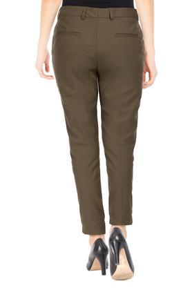 VAN HEUSEN - Olive Trousers & Pants - 1