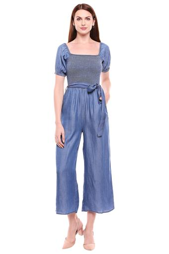 COVER STORY -  Blue Palazzos & Jumpsuits - Main