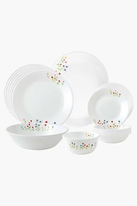 CORELLE Asia Collection Printed Dinner Set - 21 Pieces