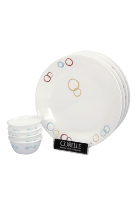 CORELLE Dinner Set (Set Of 8) - Circle