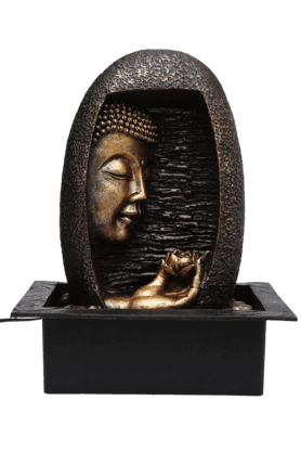 IVY Fountain With Light - Buddha - 9771473
