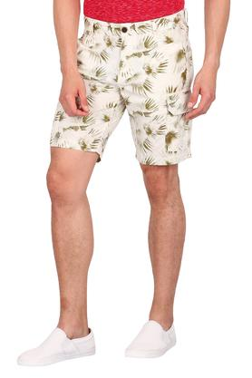 Mens 6 Pocket Printed Cargo Shorts