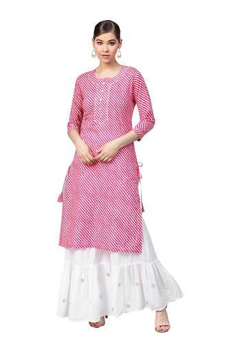 ISHIN -  Baby PinkSalwar & Churidar Suits - Main