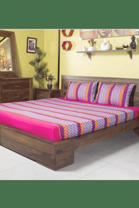 IVYDouble Bed Cover - Zig Zag