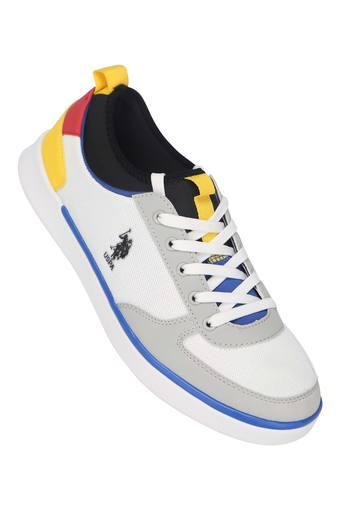 U.S. POLO ASSN. -  Off WhiteSports Shoes & Sneakers - Main
