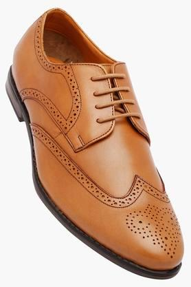 VETTORIO FRATINI Mens Leather Lace Up Derbys
