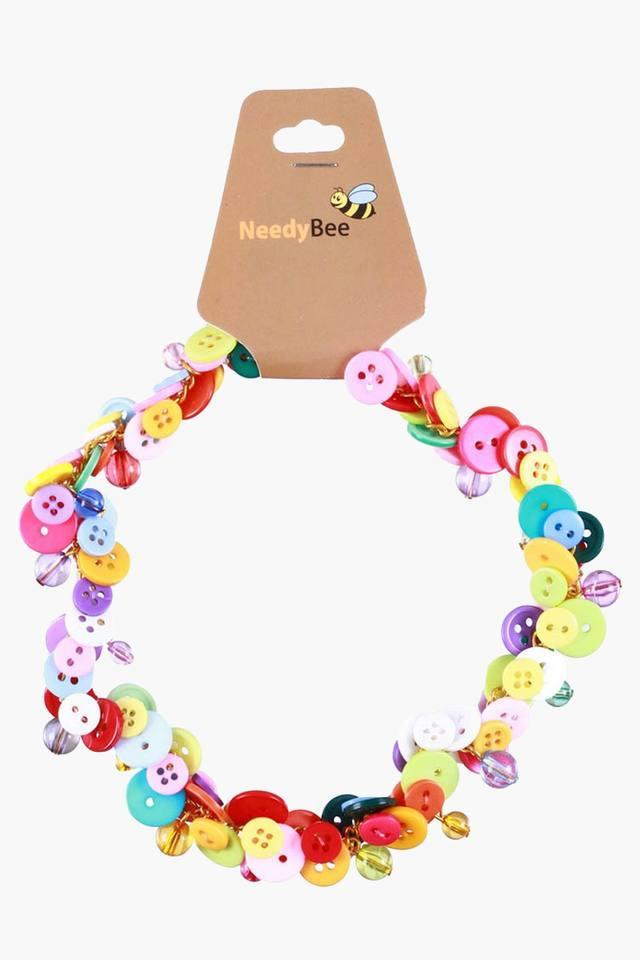 Girls Button Bracelet (3 Years +)