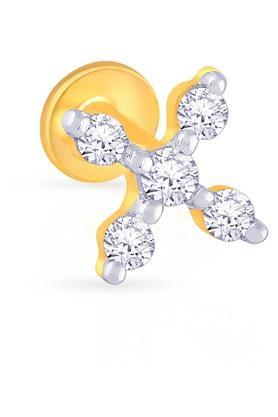 MALABAR GOLD AND DIAMONDSWomens Diamond Nosepin UINSP00154