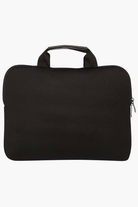 Unisex Zipper Closure Laptop Briefcase