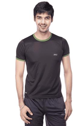 BLACK PANTHERMens Round Neck Polo T-Shirt