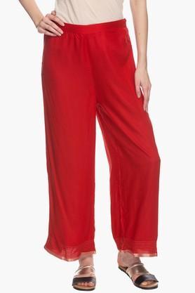BIBAWomens Elasticised Regular Fit Pants