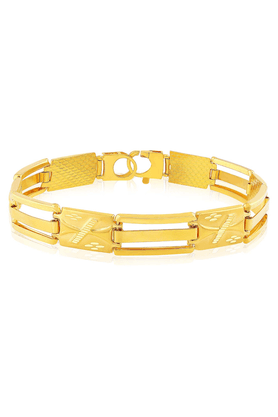 MALABAR GOLD AND DIAMONDS Mens Malabar Gold Bracelet - 201594413