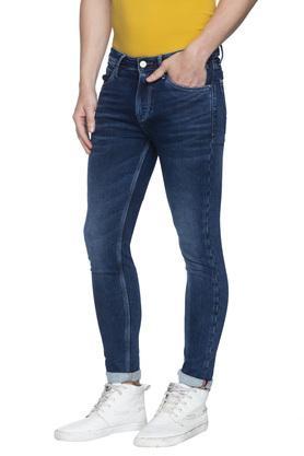 Mens Ankle Fit 5 Pocket Mild Wash Jeans