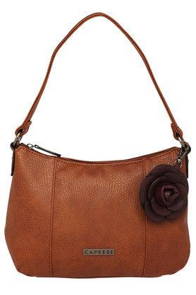 CAPRESEWomens Zipper Closure Shoulder Bag