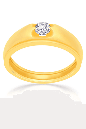MALABAR GOLD AND DIAMONDS Mens Mine Diamond Ring - Size 22 - 201593971