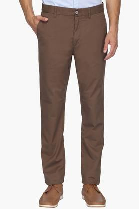 U.S. POLO ASSN. Mens Slim Fit 4 Pocket Solid Chinos - 201922540