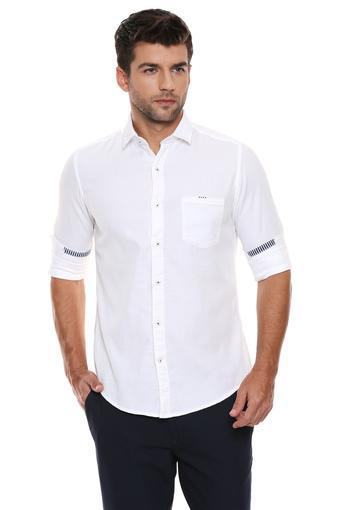 C332 -  WhiteCasual Shirts - Main