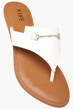 LIFEWomens Daily Wear Slipon Flat Chappal