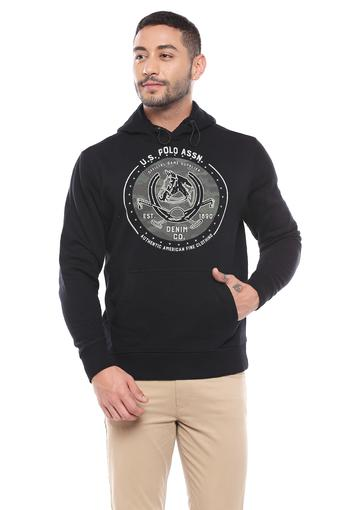 U.S. POLO ASSN. DENIM -  Black Sweatshirts - Main